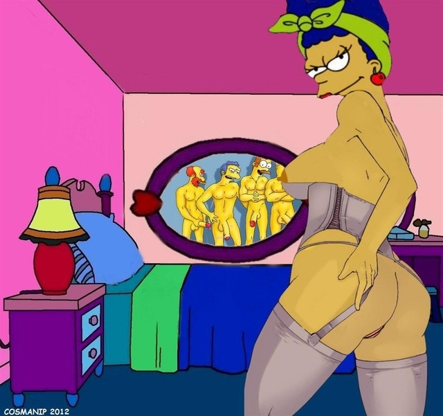 Marge Simpson Stockings