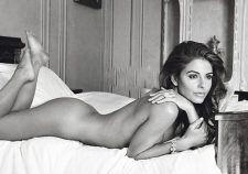 Maria Menounos Nude Posing With Hot Body In Bed