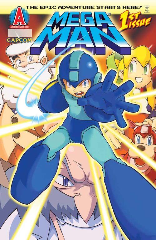 Mega Man Archie Comics