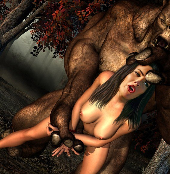 Megan Fox Getting Fucked By Monsters