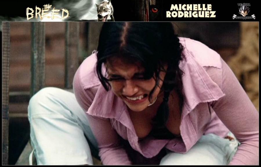 Michelle Rodriguez Nipple Slip