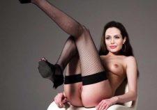 Naked Celebritys Angelina Jolie