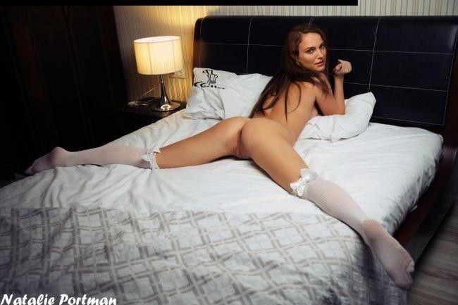 Naked Celebritys Natalie Portman