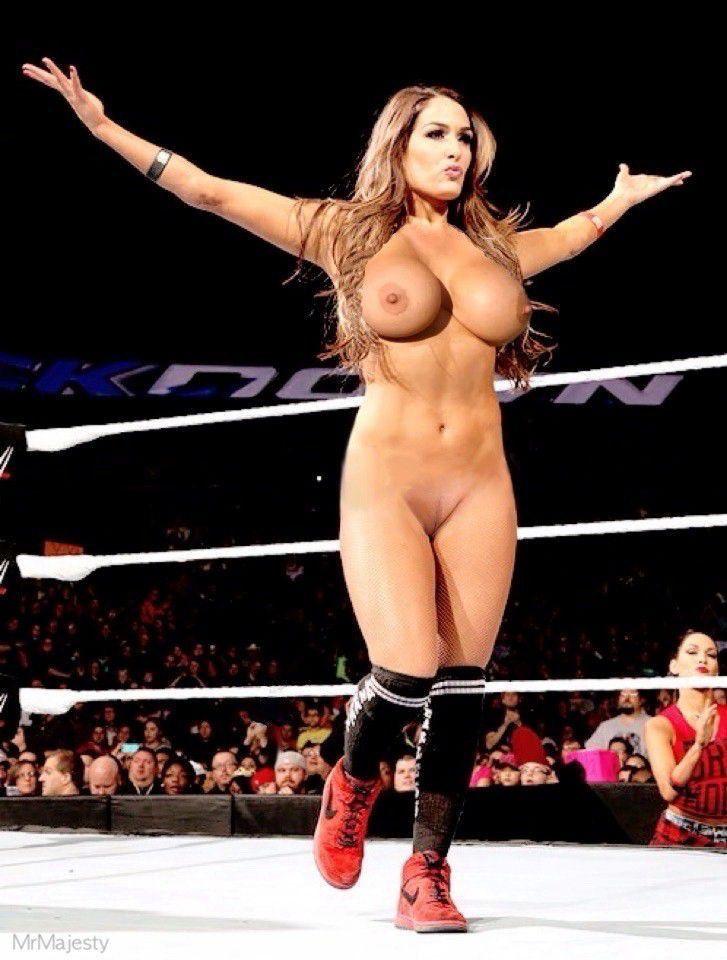 Nikki Bella Boobs Topless Naked Ass