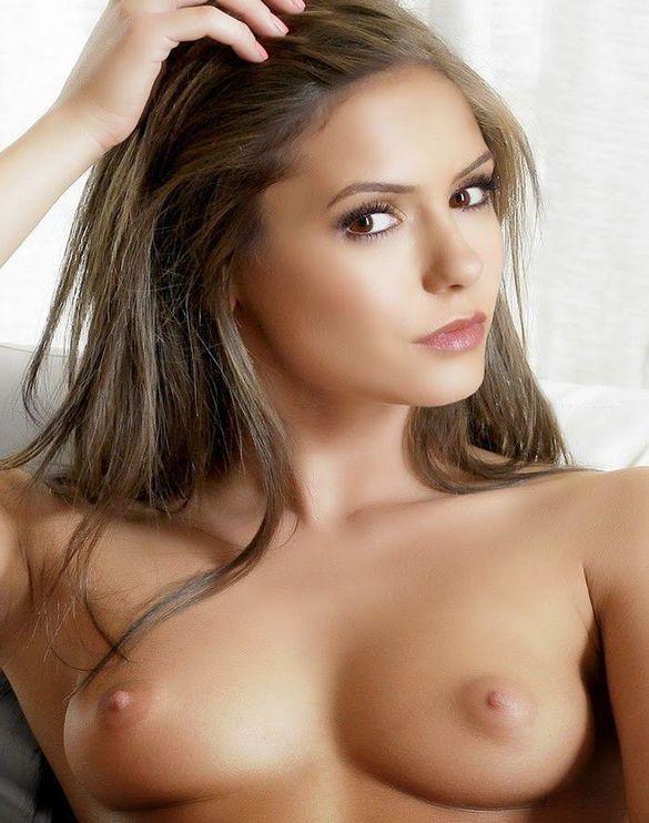 Nina Dobrev Nude Boobs Sexy Nipples