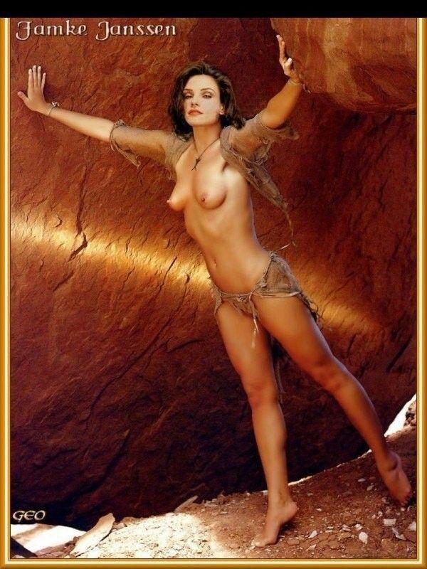 Nude Famke Janssen