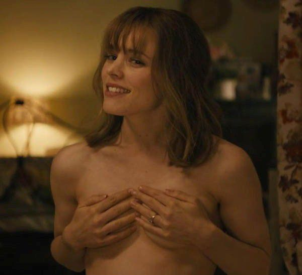 Rachel McAdams Nude Topless Covers Naked Tits