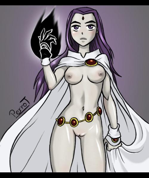 Raven Dc Comics Porn
