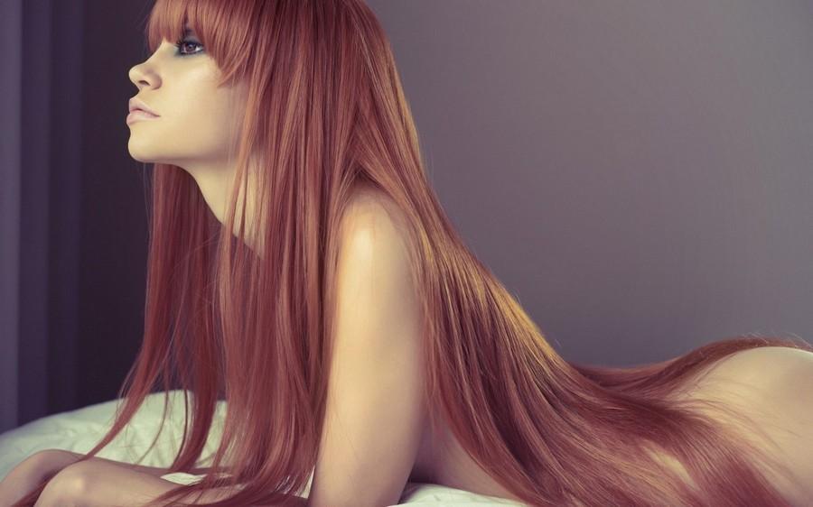 Redhead Girl Naked Model