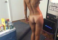Rihanna Nude Ass Sexy Tan Lines