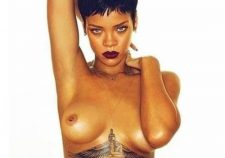 Rihanna Tattoo Under Boobs HD Photos