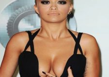 Rita Ora Cleavage Big Tits Hot Photo