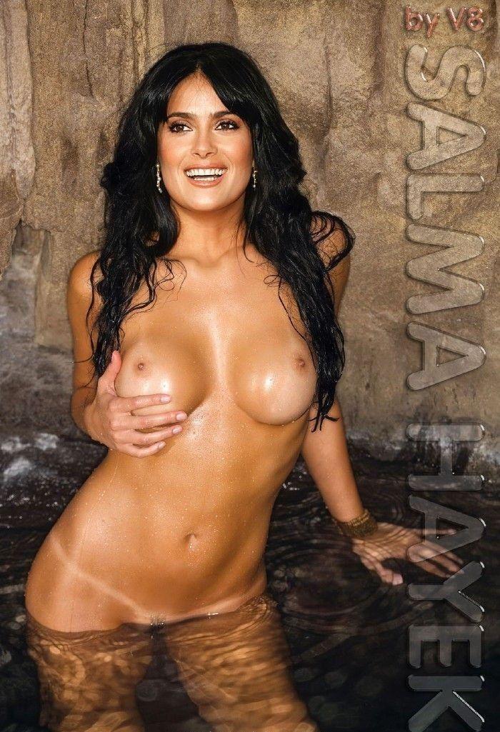 Salma Hayek Nude Tits Photo