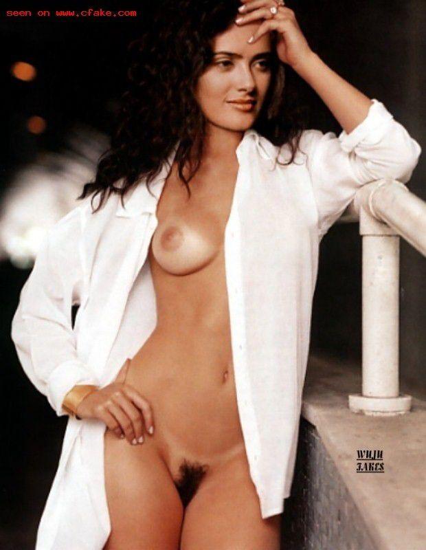 Salma Hayek Pussy Topless Nude Leaked Pics