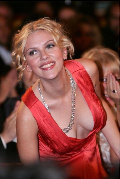 Scarlett Johansson Breast