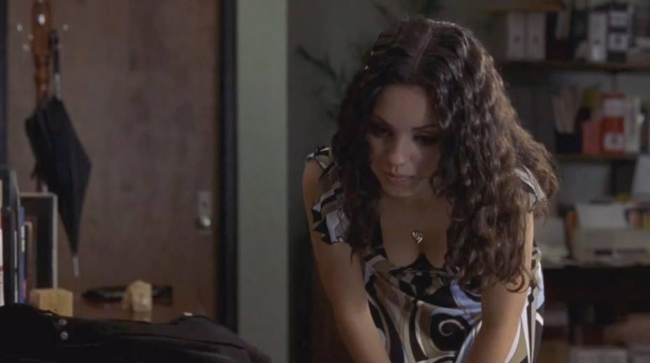 Sexy Mila Kunis Braless