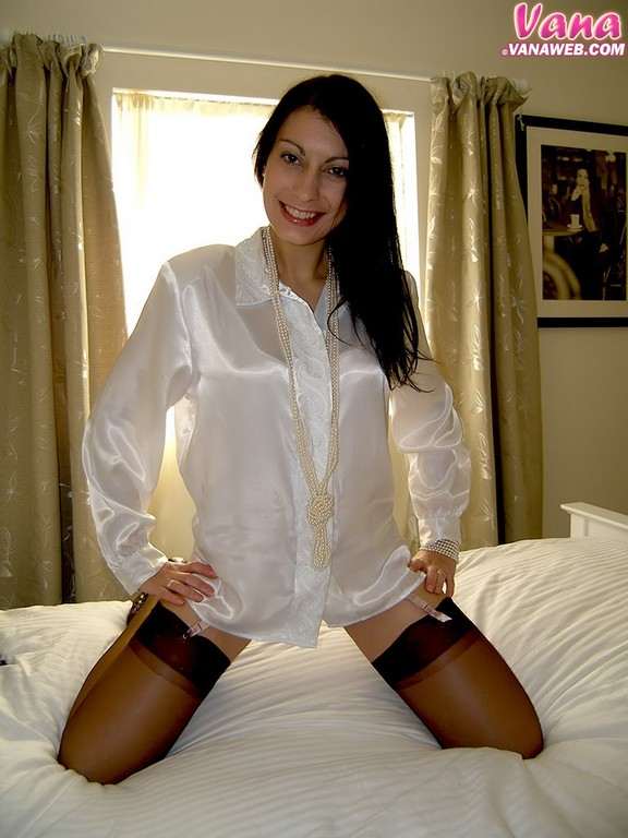 Sexy Satin Blouse Fetish