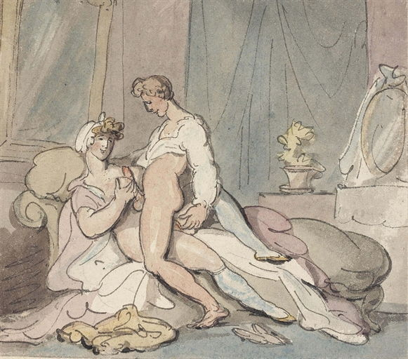 Thomas Rowlandson Erotic Art