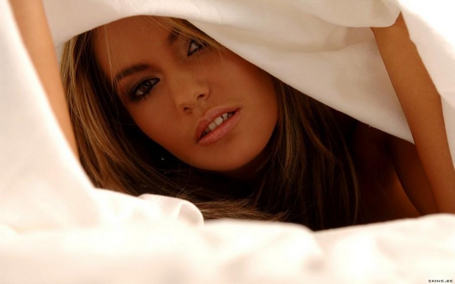 Veronika Fasterova Closeup Face