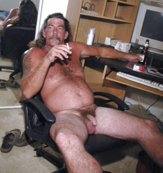 White Naked Straight Men