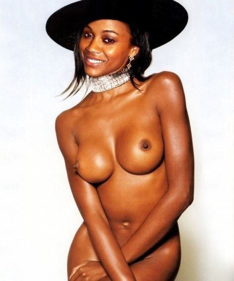 Zoe Saldana Nude Sex Porn Images Boobs Photo