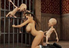 3d Monster Lara Croft
