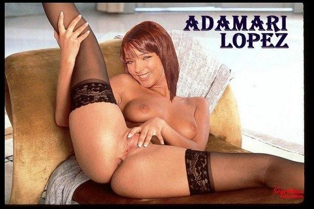 Adamari Lopez Topless Nude