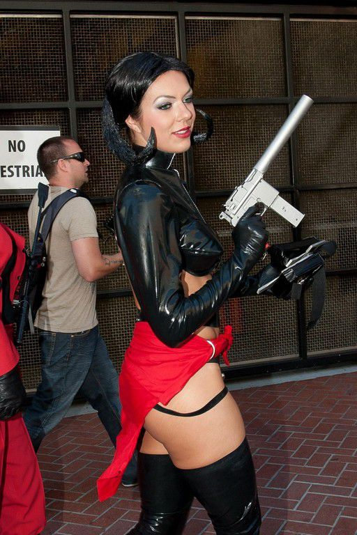 Adrianne Curry Costumes