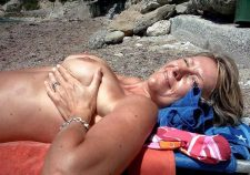 Amateur Milf Outdoor