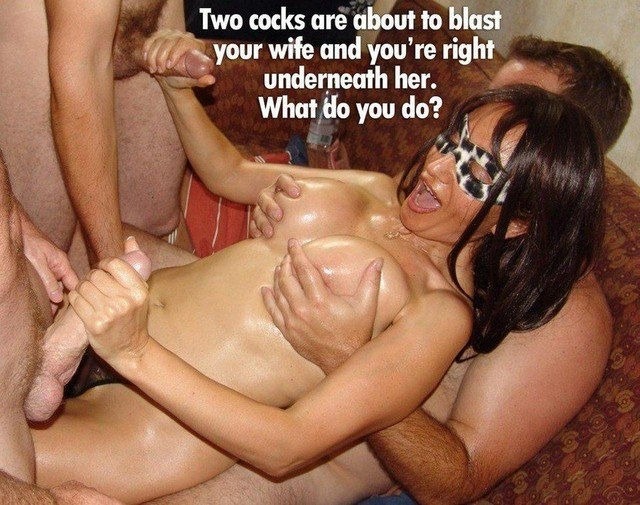 Amateur Wife Threesome Caption