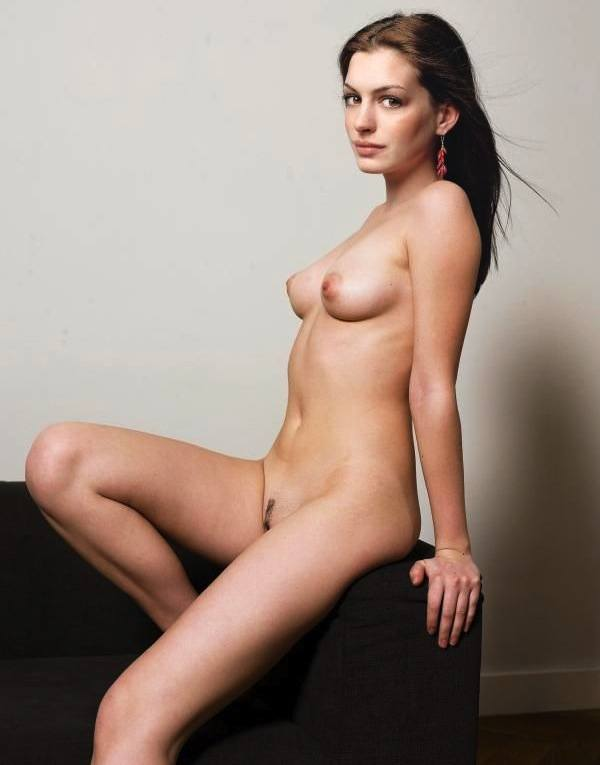 Anne Hathaway Naked Topless Hairy Pussy