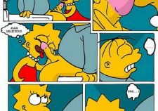 Bart And Lisa Simpsons Cartoon Sex