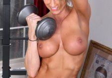 Beautiful Blonde Milf Striptease