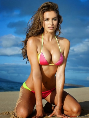 Bikini Illustrated Sport Swimsuit Irina Shayk