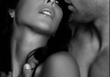 Black And White Romantic Love Making