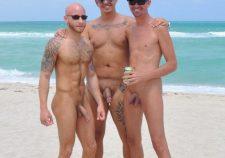 Candid Nude Beach Guys