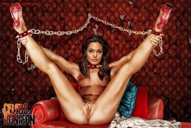 Celeb Dungeon Angelina Jolie