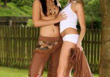 Cowgirl And Native American Lesbian Porn