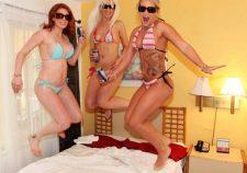 Foursome On Vacation Cali Carter Rainia Belle