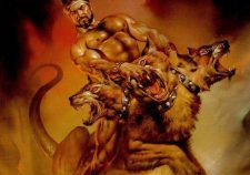 Greek Mythology Hercules And Cerberus