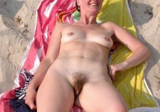 Hairy Mature Nudists