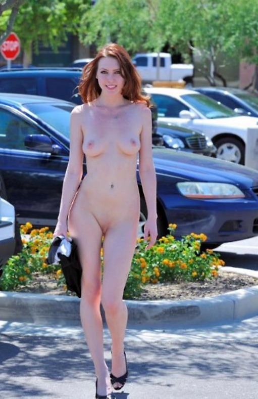 Hot Babes Nude In Public