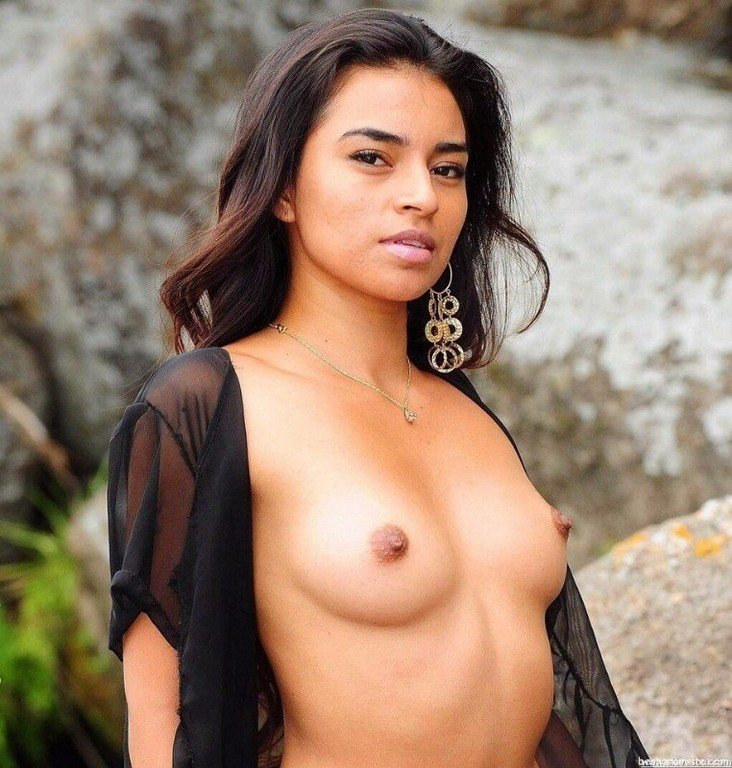 Indian Actress Beach Nude