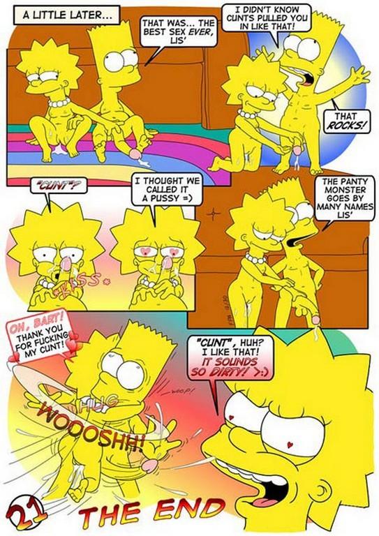 Lisa Simpson Comics Toons