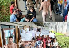 Naked Brazilian College Students
