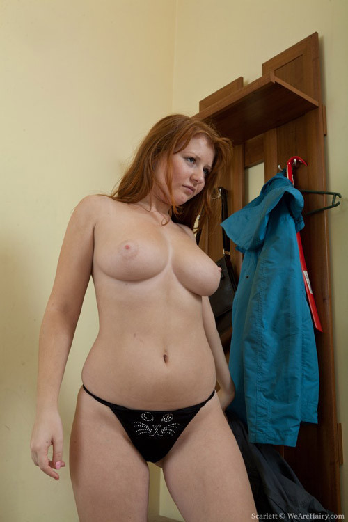 Natural Milf Redhead Hairy Cunt
