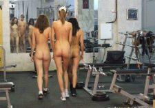 Nude Gym Class