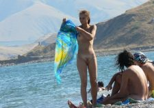 Nudist Youth On The Beach Spied By Voyeur Cams