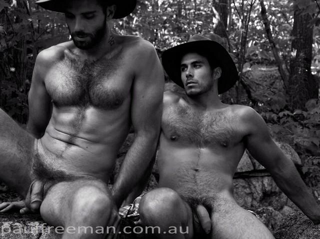 Paul Freeman Outback Men Nude