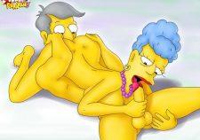 Principal Skinner Simpsons Porn Comics